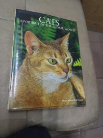 《CATS  A  PORTRAIT  OF  THE  ANIMAL  WORLD》(猫) 精装8开本