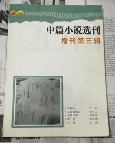 中篇小说选刊,增刊第三辑(2011)