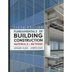 Fundamentals of Building Construction: Materials and Methods  房屋建筑原理:材料与方法