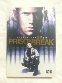 {DVD影碟}prison break 越狱(第一季/第1季)原盒八碟装DVD(正式DVD版、完整花絮收录)【硬纸盒装】