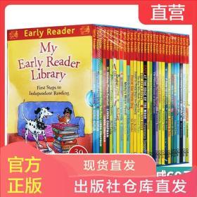 英文原版 30 Copy Early Reader Slipcase 哈榭少儿早期阅读桥梁书30本彩色套装 进口原版儿童英语课外阅读书籍 英文版