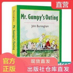 英文原版 Mr Gumpy's Outing 和甘伯伯去游河 吴敏兰廖彩杏书单 英文版儿童英语启蒙学习图画故事书 进口纸板书 John Burningham