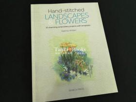 现货手工刺绣风景画和花卉Handstitched Landscapes and Flowers
