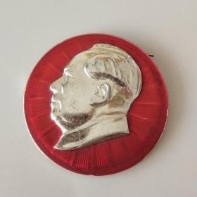 文革时期毛主席像章厚版