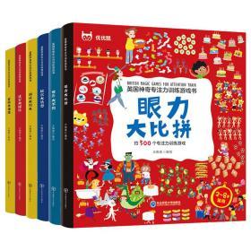 英国神奇专注力训练游戏书2-8岁(套装全6册)