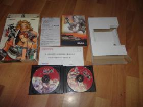 西藏镇魔曲 3CD游戏光盘 附设定手册,回执卡