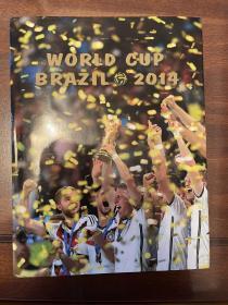 2014巴西世界杯足球官方画册 osb原版世界杯画册 world cup赛后特刊 四国语言 包邮快递