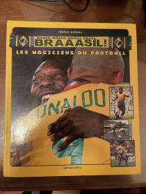 巴西足球历史画册 欧洲杯世界杯特刊 法国levy出版社 大开本包邮