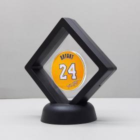 纪念科比黄色球衣硬币徽章 洛杉矶湖人队8/24号NBA篮球纪念币
