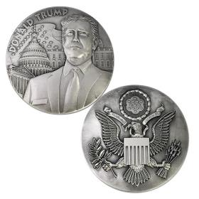 美国45届总统特朗普纪念章大徽章川普纪念币收藏礼物纪念品旅游
