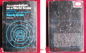 Accumulation on a World Scale: A Critique of the Theory of Underdevelopment(2 Volumes)世界规模的积累:欠发达理论批判(全2卷集 英语原版 精装本)