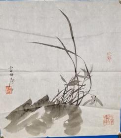 卢坤峰画作——尺寸:46*43CM
