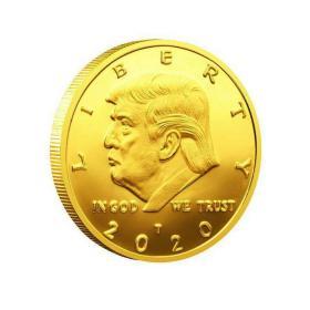 2020年美国总统币特朗普纪念章 川普美国硬币收藏收藏礼品
