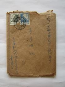 60年代上海新闻路寄广西宁明3922部队实寄封