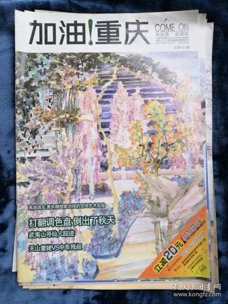 加油!重庆(周刊)  2012年10月25日   总第151期(32版)