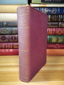 查尔斯·兰姆 The Essays of Elia 书顶刷金 老版本
