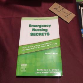 Emergency Nursing Secrets急诊护理学奥秘