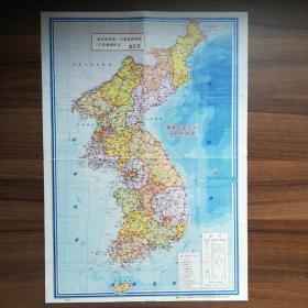朝鲜地图和平壤地图