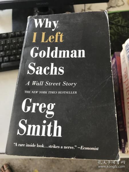 (正版!!)Why I Left Goldman Sachs...9781455558902