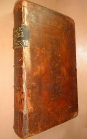 1729 年HORACE SATIRES EPISTLES & ART OF POETRY –《贺拉斯集:讽喻诗、诗艺》极珍贵全小牛皮早期版本 配补插图