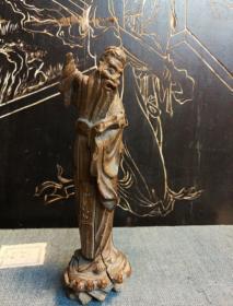 (南山),明:黄杨苏东坡上朝雕像