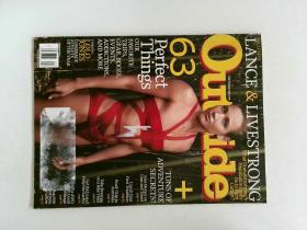 OUTSIDE 2012年2月 户外杂志英语英文时尚道具装饰原版外文杂志期刊