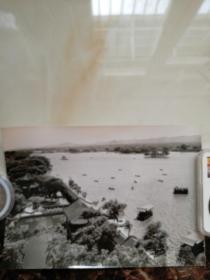 图片原稿记录济南大明湖