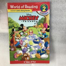 迪士尼阅读世界 米奇与朋友 3合1故事 Mickey and Friends [无光盘]