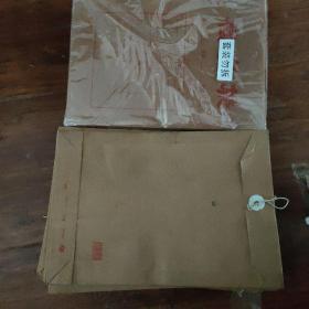 大档案袋 线锁硬封单枚成打