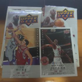 NBA球星卡2008-2009 亚德 每包10张 有乔丹 科比 詹姆斯 姚明等