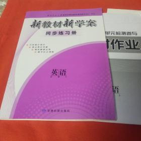 新教材新学案同步练习册 英语 必修3