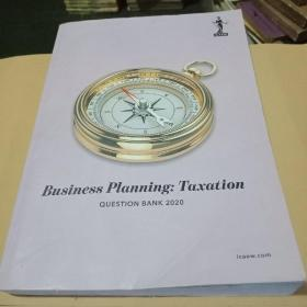 Business Planning:Taxation(question book 2020)
