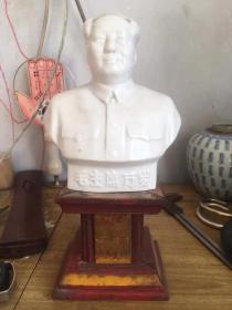 带坐毛主席像完整品好,座三面带文革题材,保真包老