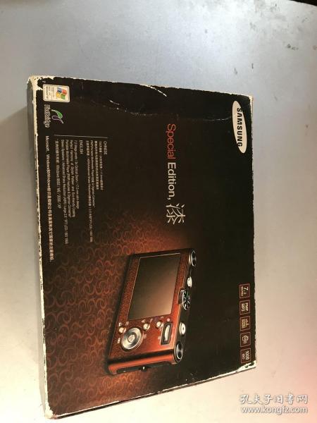 三星 蓝调NV3相机  外包装盒 使用说明书 光盘 保修卡 AV线缆 原装耳机等