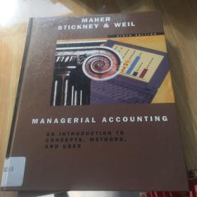 maher stickney weil  managerial accounting