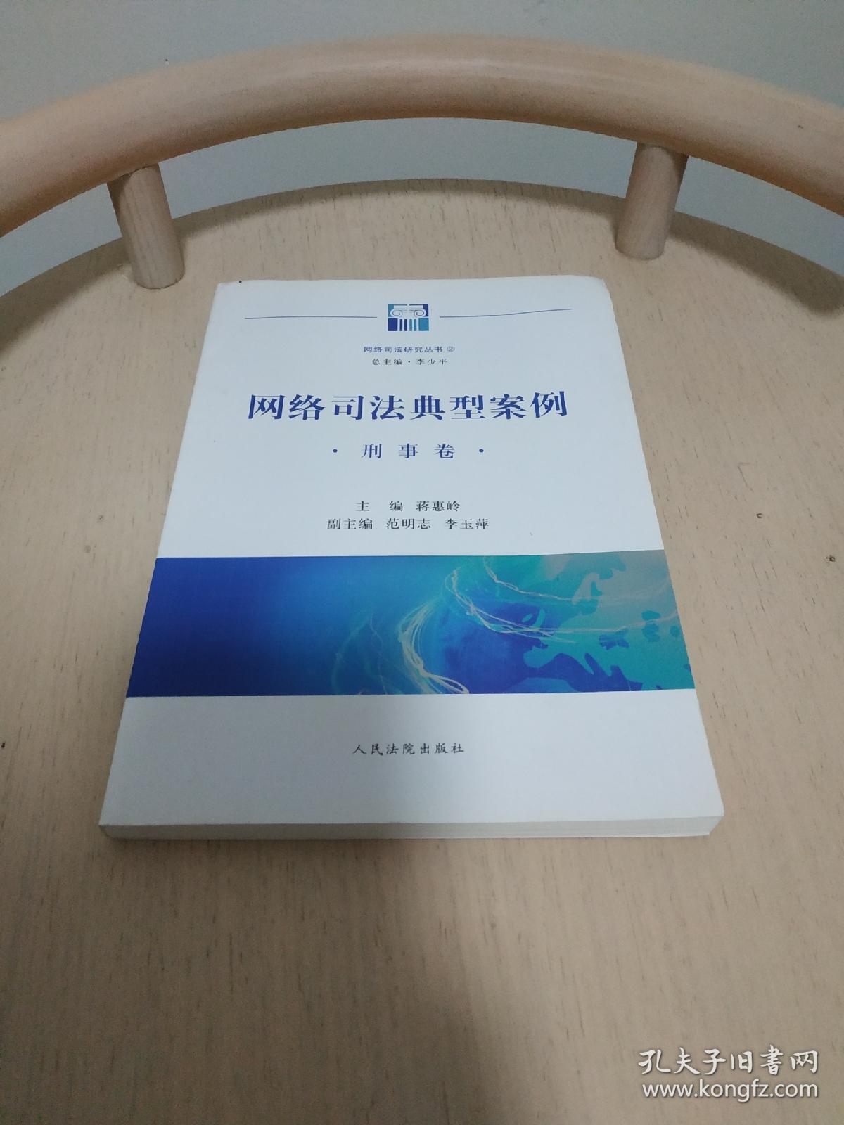 网络司法研究丛书:网络司法典型案例(刑事卷)