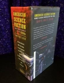 预售美国科幻小说1960年代八部经典小说盒装 American Science Fiction Eight Classic Novels