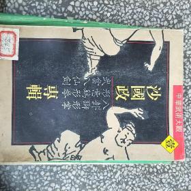 中华武术大观:沙国政专辑  书本干净整洁字迹清楚一版一印75