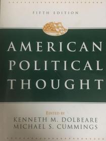 英文原版:American political thought 第五版
