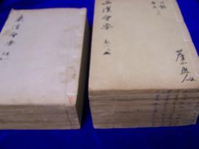 东汉西汉会要    18册全     27.3*17cm   无虫蛀     品相好    光绪甲申年江苏书局刊