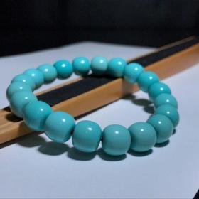 高瓷高蓝原矿绿松石