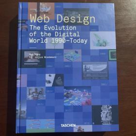 现货英文原版书籍 taschen 网页设计.数字世界的演变1990年至今天