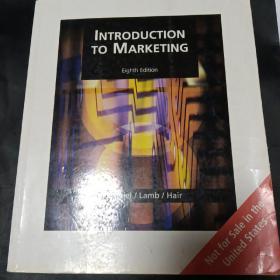 introduction to marketing 市场营销概论 RMB 49