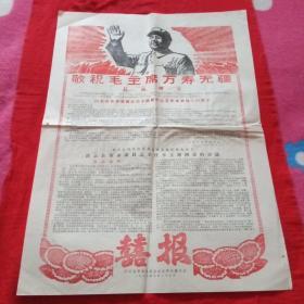 囍报,庆云县革命委员会成立和庆祝大会(1968年8月27日)