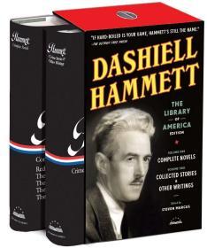 预售达希尔哈米特侦探小说合集Dashiell Hammett: The Library of America Edition