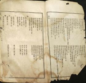 mk90文选卷三1册民国白纸石印