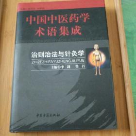 中国中医药学术语集成.治则治法与针灸学