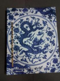 香港 苏富比2012年春拍 重要中国瓷器及工艺品拍卖图录