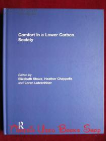 Comfort in a Lower Carbon Society(英语原版 精装本)低碳社会中的舒适