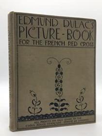 1915年《埃德蒙•杜拉克插画集》珍贵善本 原布面精装